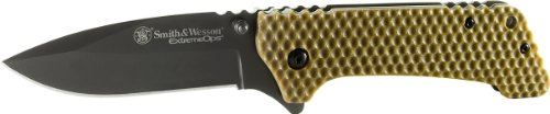 Smith and Wesson CKG20BR Extreme Ops Folding Knife with Pock