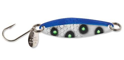 Luhr Jensen 2 Needlefish Spoon, Blue/Chart UV