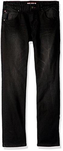(Tommy Hilfiger Boy's Big Stretch Denim Jeans, Rebel Wrecker, 7)