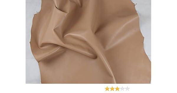 Cuero Napa, de alta calidad, 100 % auténtica, disponible en varios colores CLASSIC NUDE: Amazon.es: Hogar