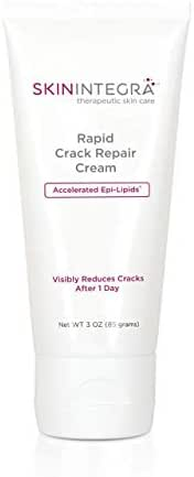 SkinIntegra Rapid Crack Repair Cream. Nourishing Super Plant Oils, 25% Urea for Fast Relief of Dry, Cracked, Rough Skin. Heals Hands, Feet, Body. Absorbs in Minutes Repairs Damaged Skin After 1 Day.