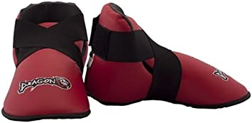 Taekwondo Karate Foot Gear-Smart Design-Red Dragon Do Sparring Shoes Best for Martial Arts