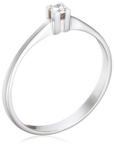 Miore - M0599W - Bague de Fiançailles Femme - Or blanc (18 carats) 1.6 gr - Diamant