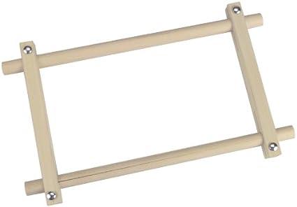Amazon.com - Kahoot Deluxe Hardwood Scroll Frame, 6-Inch x 12-Inch ...