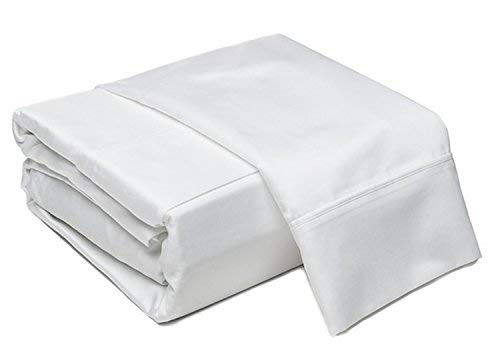 Addy Home Fashions 6 Piece Thread Count 100% Cotton Sheet Set, King, White