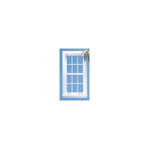 Dollhouse Miniature Double Hung Window W/mullions