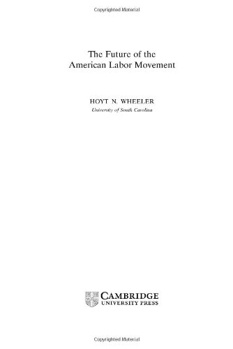 The Future Of The American Labor Movement