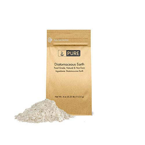 Diatomaceous Earth (4 oz.) by Pure Organic Ingredients, Food Grade, Hundreds of...