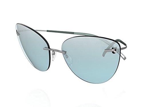 Silhouette Titanium Sunglasses Titan Minimal Art the Icon 8154 8688 (8154 - Silhouette Sunglasses