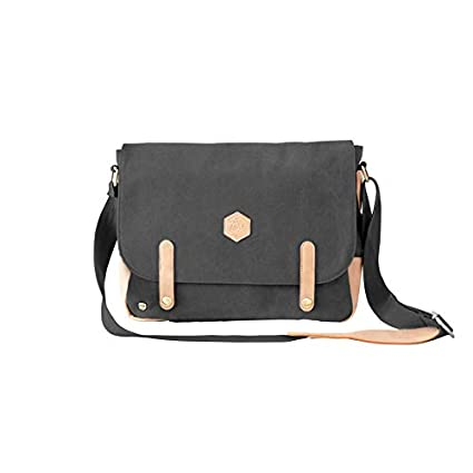 Mr. Wonderful Mister Bolso Bandolera, 35 cm, Negro