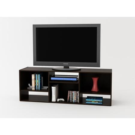 "TV Stand or Shelving Unit for TVs up to 55"", Espresso from Supernon"