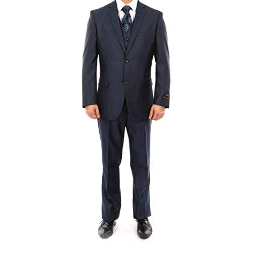 3 Piece 2 Button Single Breasted Classic Fit Suit New(52L/46Waist Regular) ()