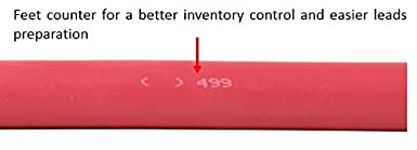 Made in USA Flex-A-Prene Welding//Battery Cable Red #6 Gauge AWG 5 FEET 600 V