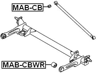 for Rear Control Arm Arm Bushing Mb809566 For Mitsubishi