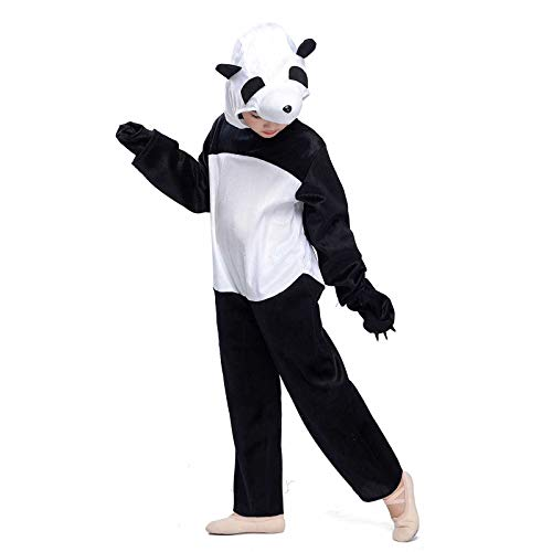(Panda Costumes Kids Animals Pajamas Cosplay Baby Fancy Dress Jumpsuit Lounge Wear Outfit (Panda,)