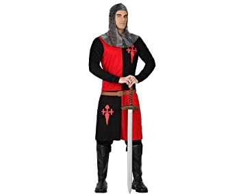 Atosa – 18319 – Disfraz – Disfraz de caballero medieval – Adulto – Tamaño 1