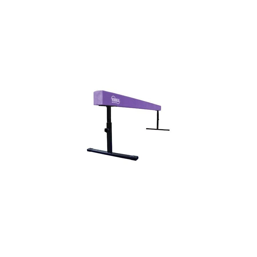 Purple 8ft 14 24in High Adjustable Balance Beam