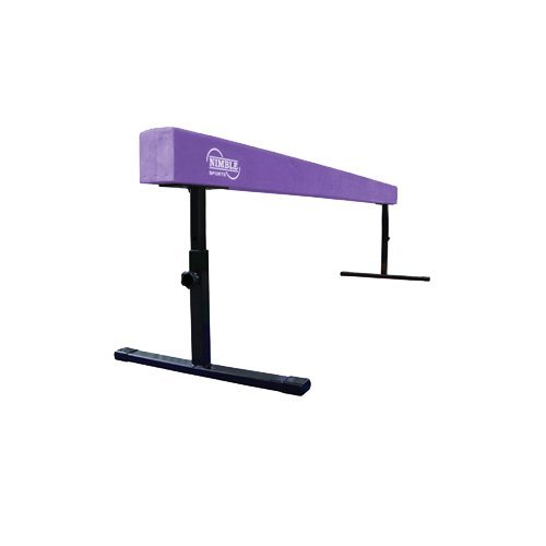 Purple 8ft 14 24in High Adjustable Balance Beam