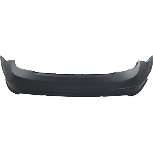 Amg Package - New Rear Bumper Cover For 2008-2011 Mercedes C-Class Primed, With Amg Styling Package, Without Parktronic Holes MB1100276