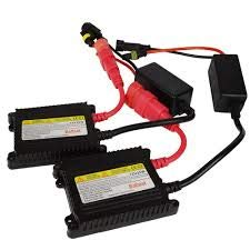 HID Xenon Conversion Kit Replacement Ballasts - 1 Pair, 35 Watts DC Slim -