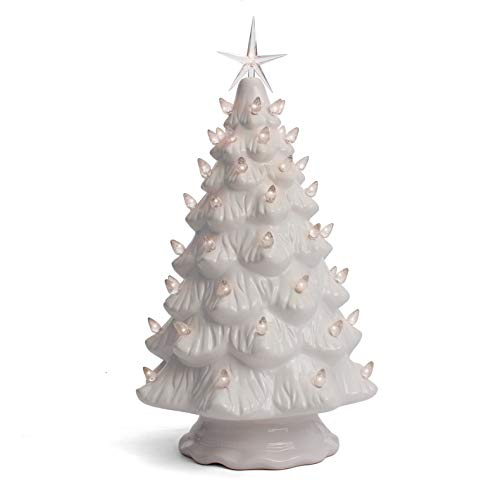 Amazon.com: Milltown Merchants Ceramic Christmas Tree