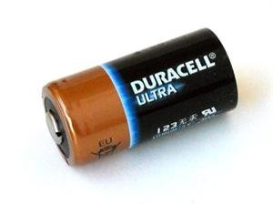 Duracell Ultra DL123A Lithium CR123A 3V Photo Lithium Batteries, Box of 400 pcs by Duracell
