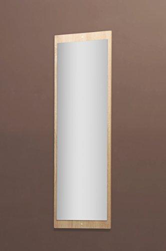 5077-11 - Spiegel od. Garderobenspiegel, in sonoma Eiche sägerau, 112 x 38 cm