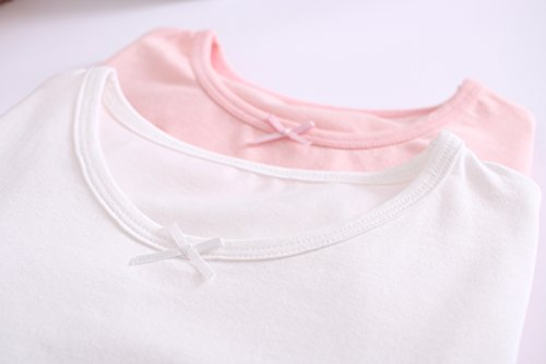 Big Girls' Animal Nightgowns Bunny Sleepwear Cotton Nightie Pink for Size 14 by AOSKERA (Image #4)