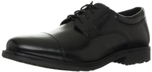 Rockport Men's Essential Details Water Proof Cap Toe Oxford,