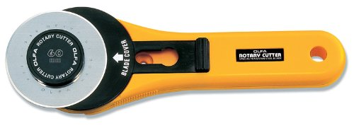 Olfa Standard Rotary Cutter-60mm 1 pcs sku# 643868MA by OLFA