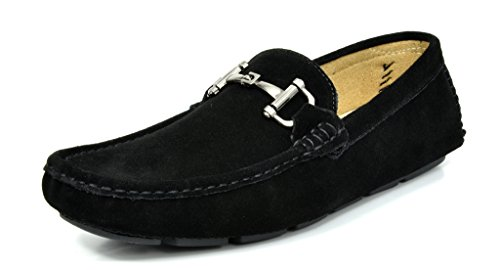 MARC LANE 02 Classic Leather Loafers