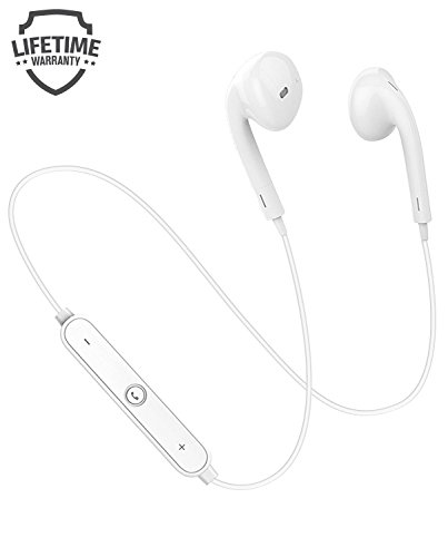 TruWire Bluetooth Earphones, Bluetooth 4.1 Headphones, Wirel