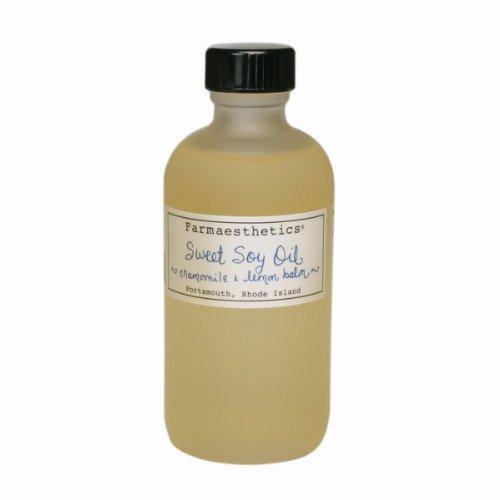 Farmaesthetics Sweet Soy & Chamomile & Lemon Balm Oil - 4oz.
