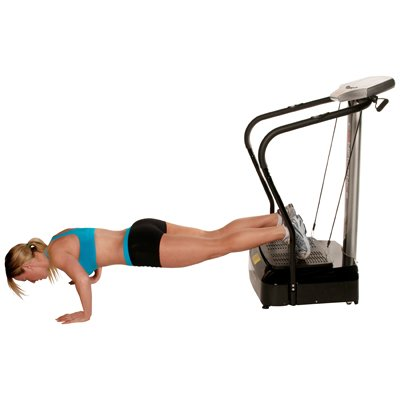 Confidence Fitness Slim Full Body Vibration Platform Fitness Machine, Black by Confidence (Image #3)