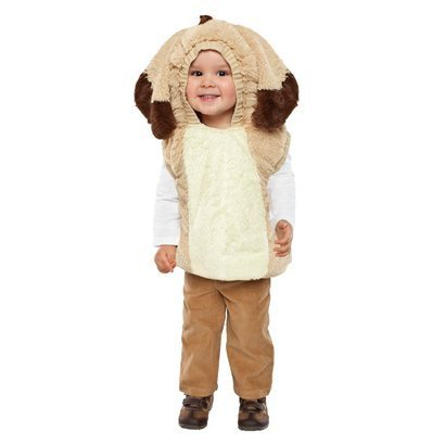 plush toddler puppy dog halloween costume size 2t 3t