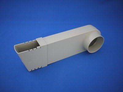 パナソニック(Panasonic) ハイトイ水下エルボ(積雪用) 白 60mm KQ19781