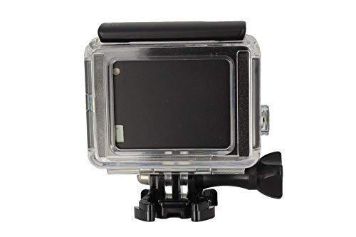 Silver 1300 mAh, ersetzt GoPro BacPac 3661-093 + KFZ- und Netz-Adapter f/ür GoPro Hero3+ und Hero4 Black Zusatzakku White Surf /& Music Edition mtb more energy