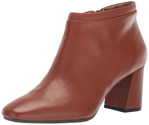 Aerosoles Women's Head North Ankle Boot, Dark tan Leather, 9 M US