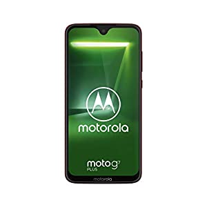 Motorola Moto G7 Plus XT1965 Dual-SIM 64GB (GSM Only, No CDMA) Factory Unlocked 4G/LTE Smartphone – International Version (Viva Red)