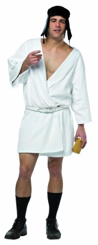 Cousin It Costumes - Rasta Imposta Men's National Lampoon's Christmas Vacation Cousin Eddie, White, One Size