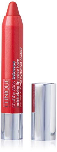 Clinique Chubby Stick Intense Moisturizing Lip Colour Balm, Heftiest Hibiscus, 0.1 Ounce