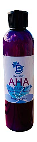 AHA Anti Aging Cleansing Milk with Honey, Aloe, Knotgrass & More, By Diva Stuff