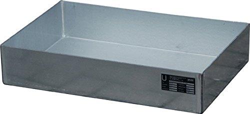 Bauer GmbH Auffangwanne 20l Stahlblech L600xB400xH120mm ohne Lochplatte