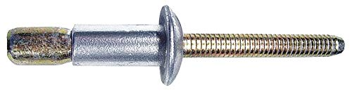 Magna-Lok Rivet, Truss, 3/16 In Dia, .062 Grip, Pk25 - MGLT-R6-E-PKT Pack of 2 (Pkt Rivet)