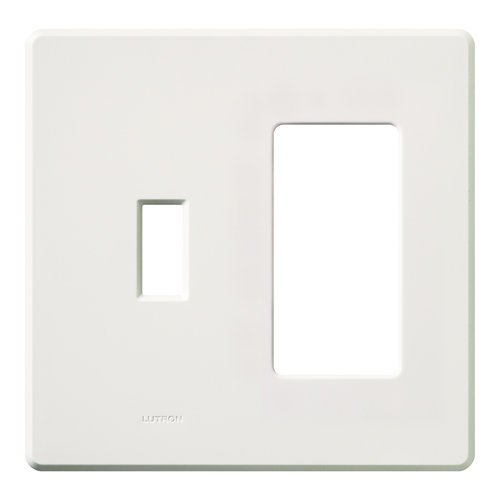 2 Plates Wall (Lutron FG-2-TD-WH Electrical Distribution Wall Plate White)