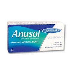 Anusol suppositoires X 24