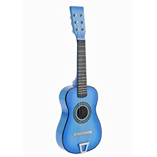 Star Kids Acoustic Toy Guitar 23 Inches Color Light Blue, MG50-LBL