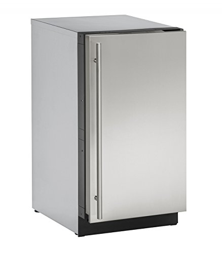 U-Line U3018CLRS40A Built-in Clear Ice Machine, 18″, Stainless Steel For Sale