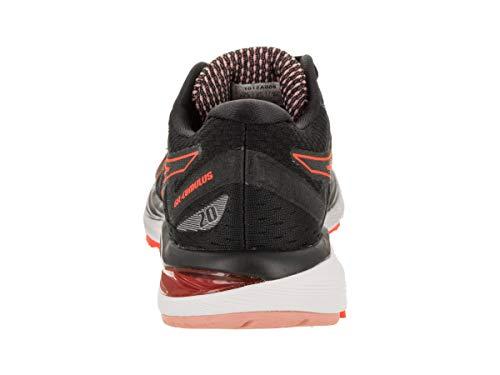 20 Coral Noir 7 5 uni Femme flash Running Chaussures cumulus Asics Royaume Gel CABw1q