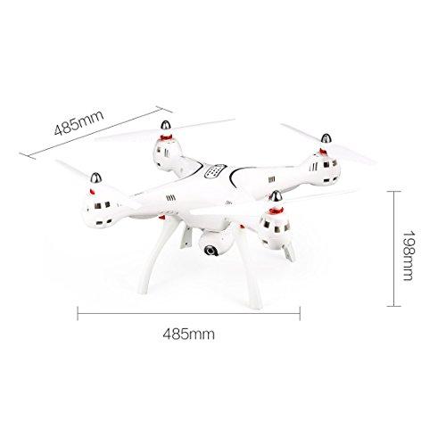 Laurelmartina Syma X8PRO 2.4G GPS Posicionamiento FPV RC Drone ...